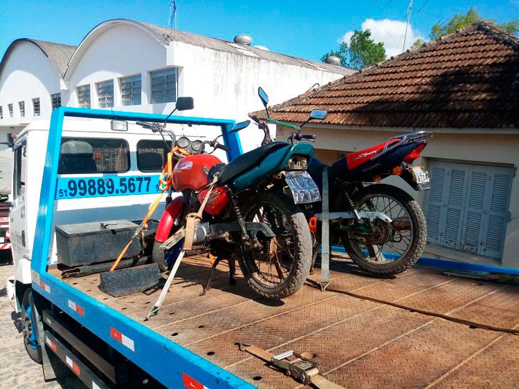 Polícia recupera motos furtadas no interior de Chuvisca