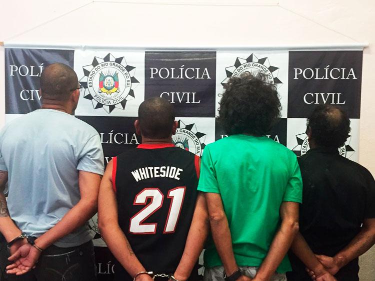 Operação Hidra prende traficantes com drogas, armas e munições, em Tapes