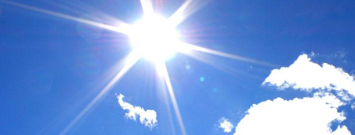 Calorão no final de semana