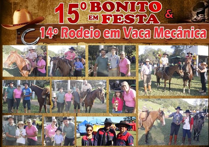 15º Bonito em Festa / 14º Rodeio em Vaca Mecanica