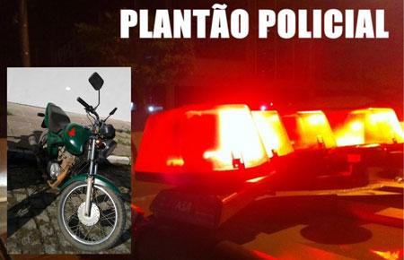 Motocicleta furtada é recuperada após ser negociada via facebrick