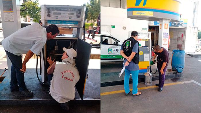 Postos de combustíveis passam por fiscalização