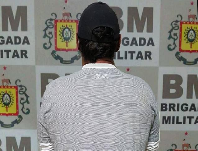 Brigada Militar prende homem com mandado de prisão