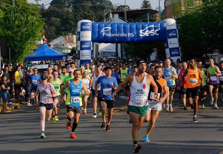 É neste domingo a etapa Camaquã do Circuito Sesc de Corridas
