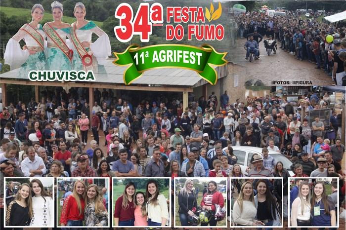 34ª Festa do Fumo e 11ª Agrifest em Chuvisca