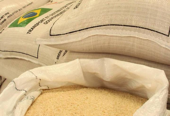 Exportações de arroz em 2018 já superam o total de 2017