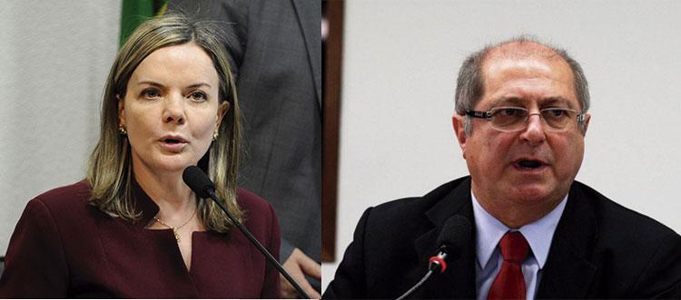 STF absolve senadora Gleisi Hoffmann (PT) e o ex-ministro Paulo Bernardo