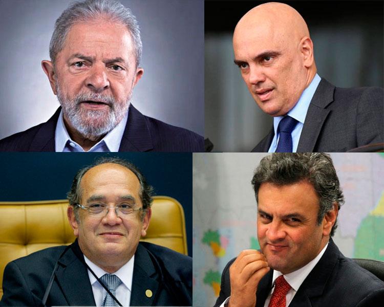Ministros do STF negam liberdade a Lula e arquivam inquérito sobre Aécio