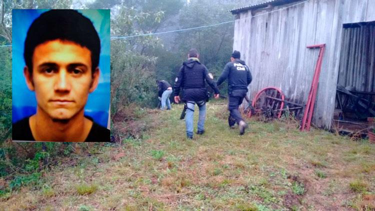 Criminoso morre em confronto com a polícia em Cerro Grande do Sul