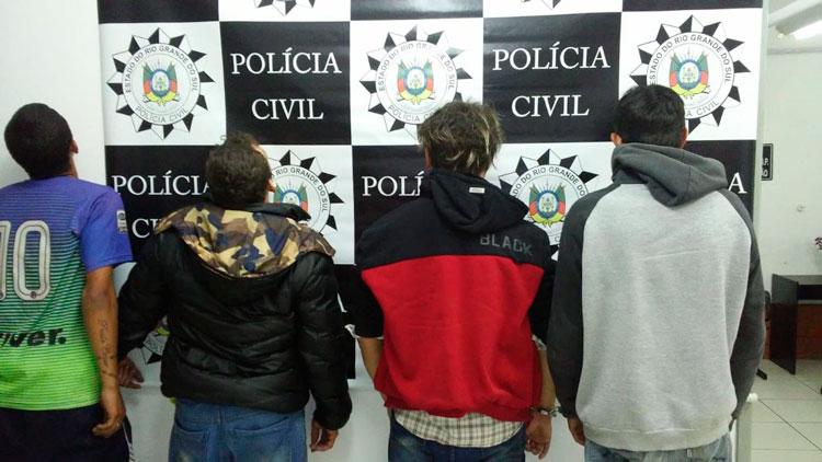 Polícia prende traficantes em Barra do Ribeiro
