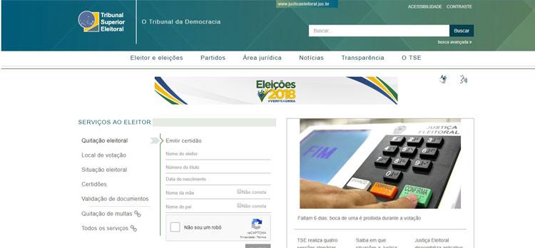 Eleitor pode conferir local de votação de forma rápida na internet