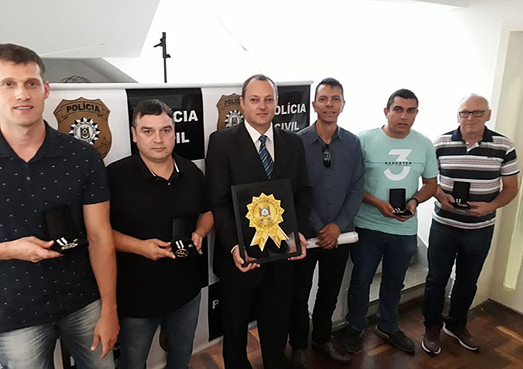 DP de Barra do Ribeiro recebe medalha de ouro e selo de eficiência