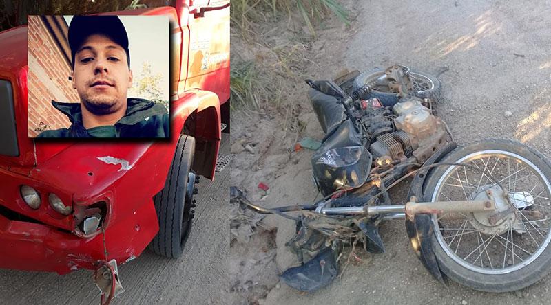 Jovem baronense morre em acidente de moto em Cerro Grande do Sul