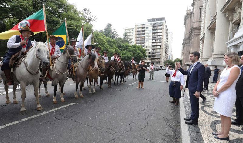 Cavalgada percorrerá 300 quilômetros de Barra do Ribeiro até Pelotas