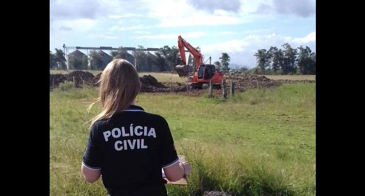 Polícia atua contra crime ambiental em Camaquã