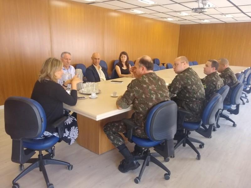 Grupo que atua em nova base cartográfica oficial do estado tem encontro na Seplag