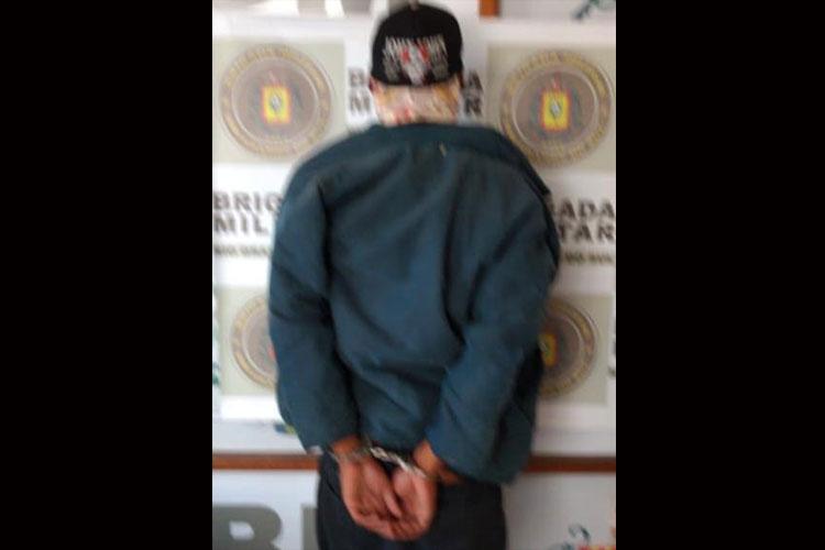 Brigada Militar prende rapaz suspeito de roubo a pedestres em Camaquã