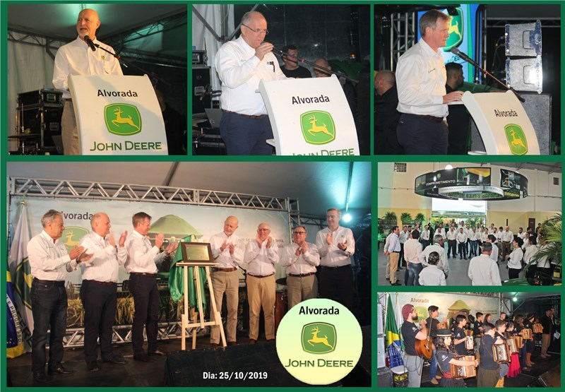 Alvorada John Deere oficializa inauguração em Barra do Ribeiro