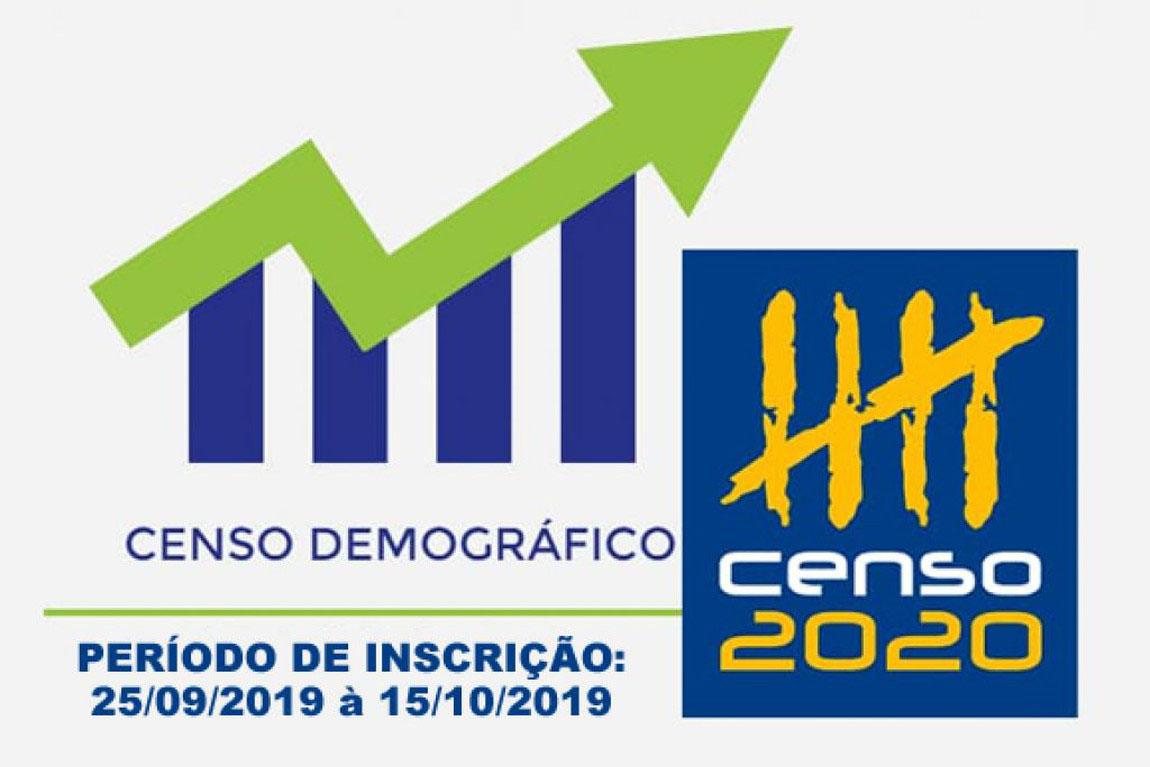 IBGE abre vagas para trabalhar no Censo Demográfico 2020