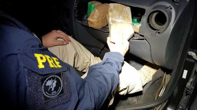 PRF prende três pessoas e apreende 21 quilos de crack em Torres/RS