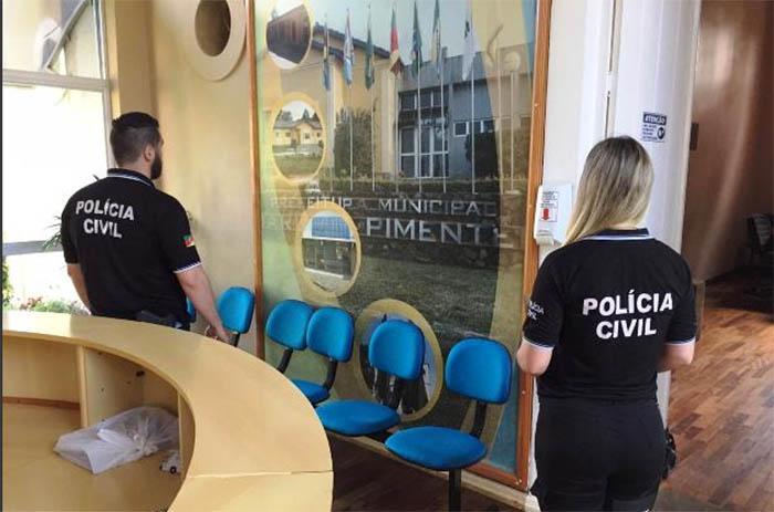 Operação da Polícia Civil na Prefeitura de Mariana Pimentel
