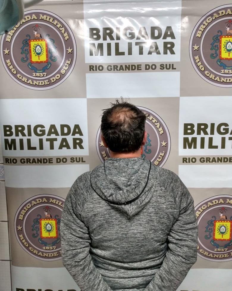 Brigada Militar efetua recaptura de foragido do sistema prisional em Camaquã