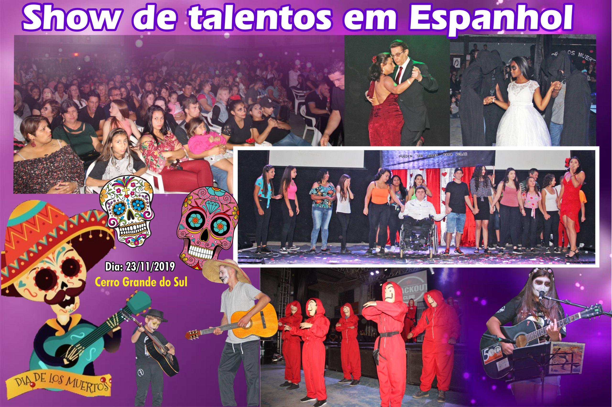 Show de Talentos em Espanhol / Cerro Grande do Sul