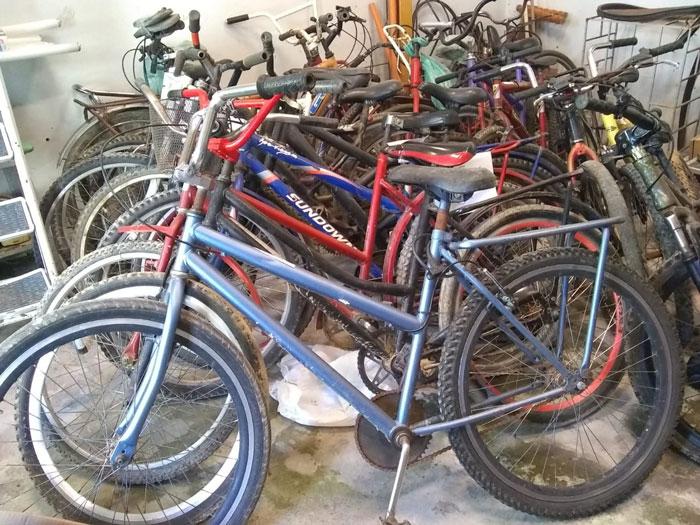 Delegacia de Tapes convoca eventuais proprietários de bicicletas