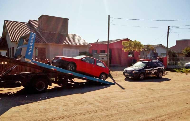 Polícia apreende veículo de abigeatários em Camaquã