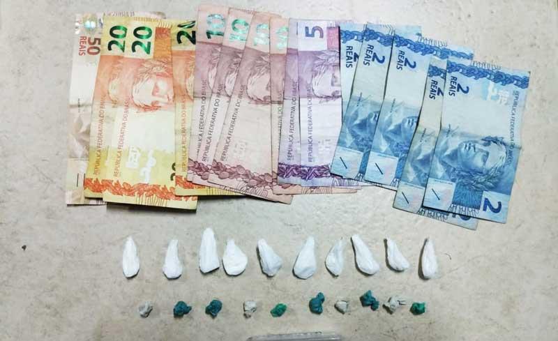 Brigada Militar prende homem vendendo drogas