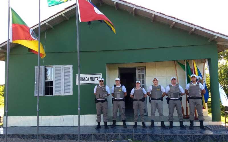 Inaugurada nova sede da Brigada Militar em Chuvisca