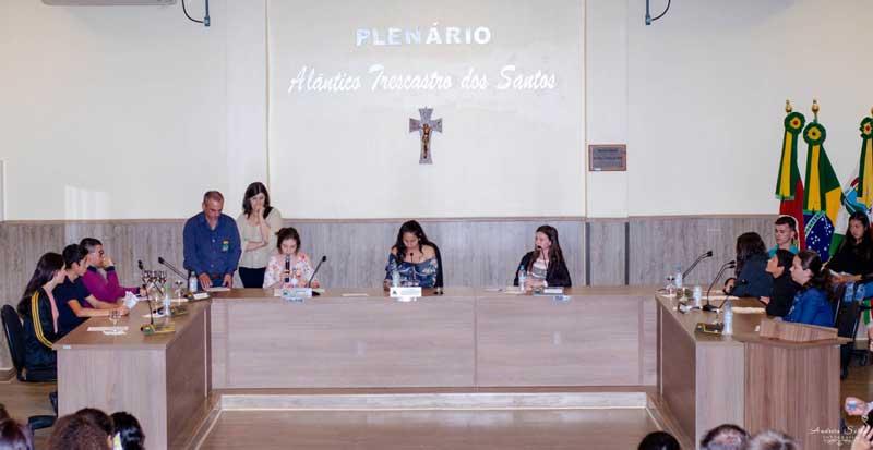 Legislativo promove a Sessão Plenária do Estudante 2019