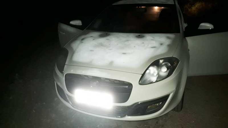 Brigada Militar recuperou carro roubado em assalto em Cerro G. Sul