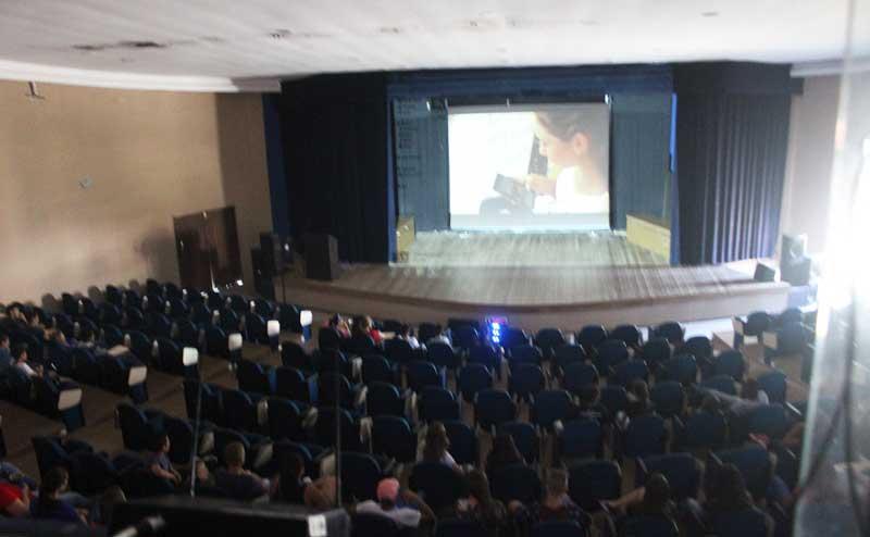 Estudante produzem e exibem Curtas Metragens em Mariana Pimentel