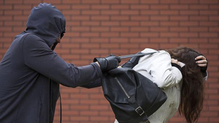 Mulher tem bolsa com pertences roubada por criminosos